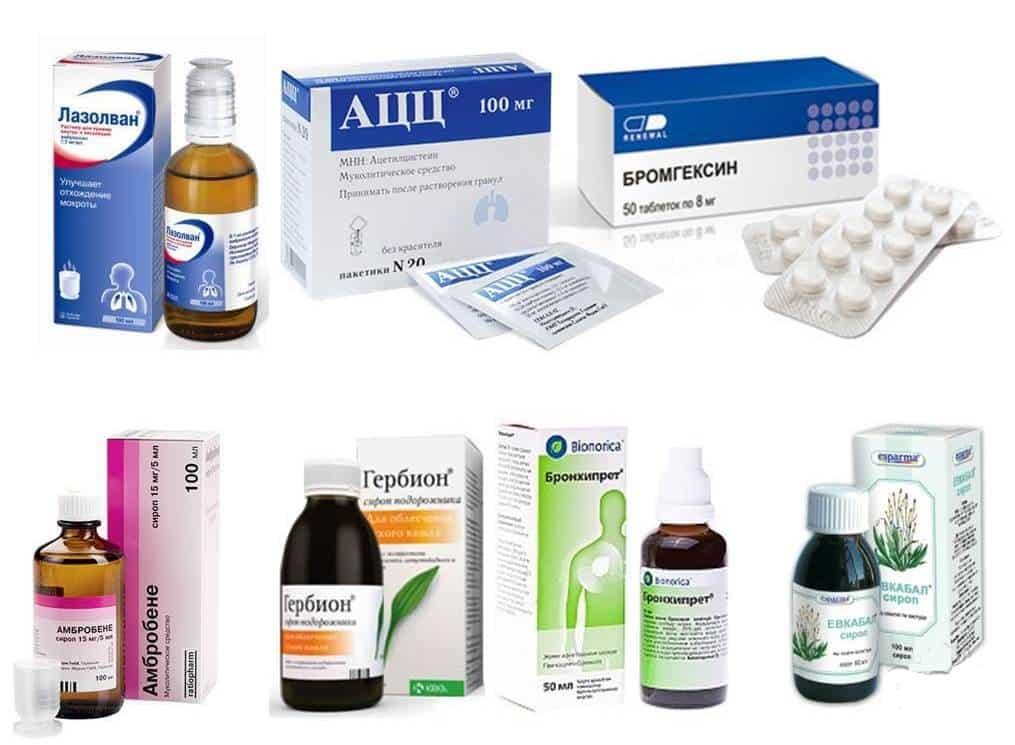 Популярные противокашлевые средства