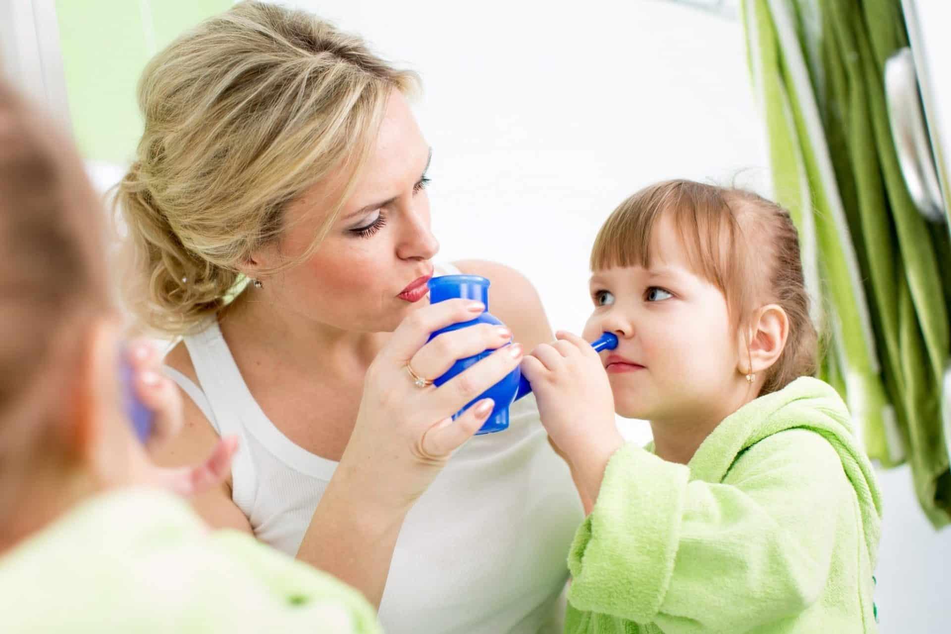 Как вылечить затяжной насморк у ребенка?
