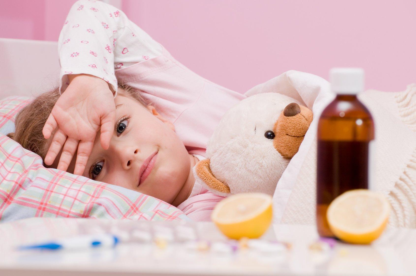 лечение ребенка от орви