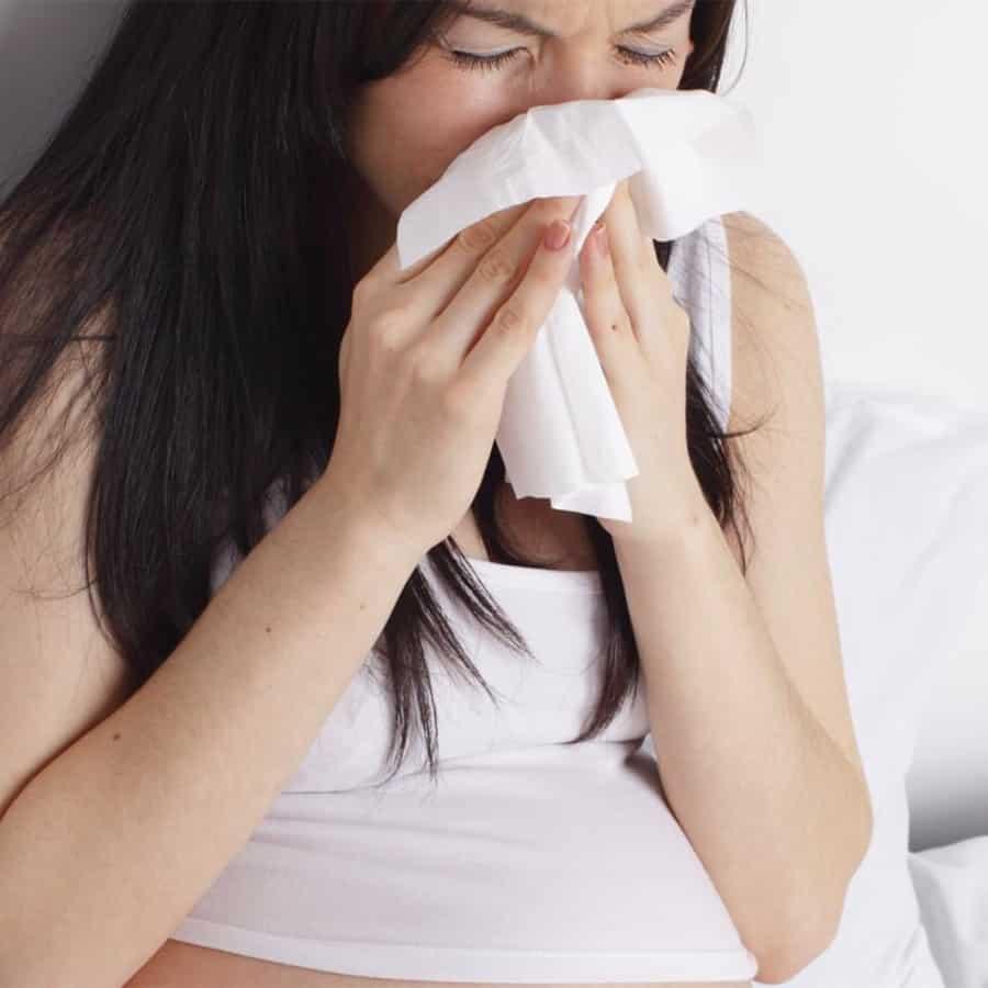 Симптомы и причины заболевания ОРВИ во втором триместре