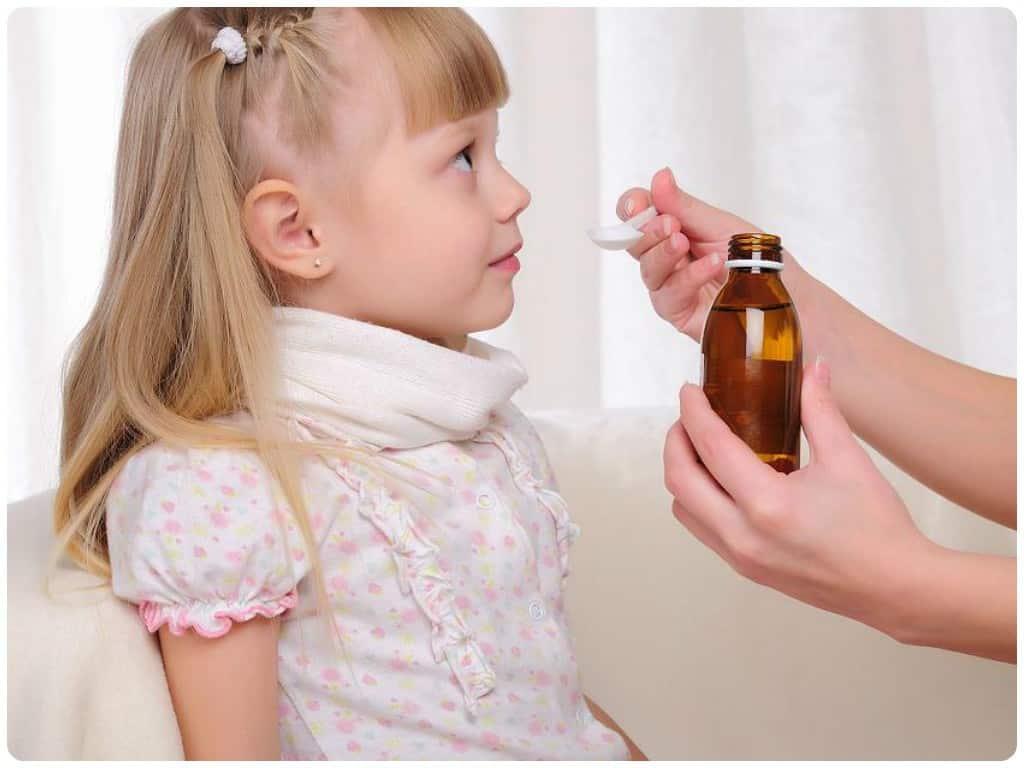 Применение антибиотических средств при ларингите у детей