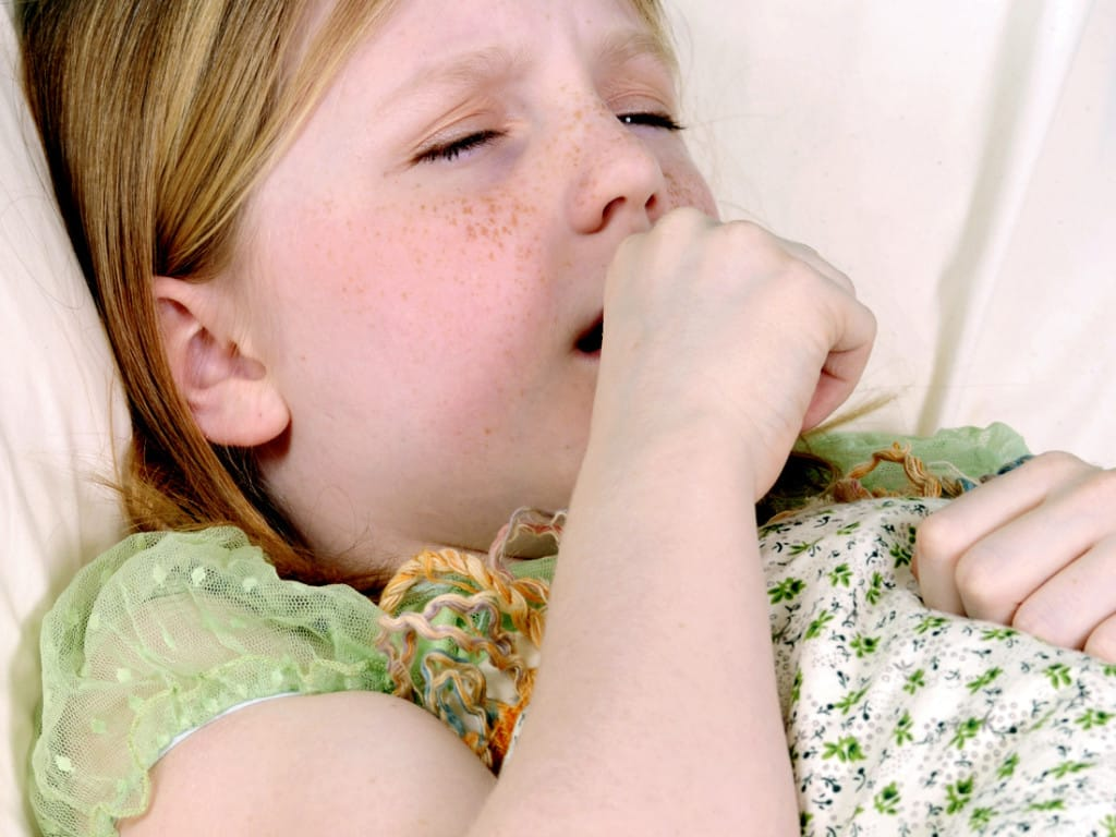 Причины сухого кашля