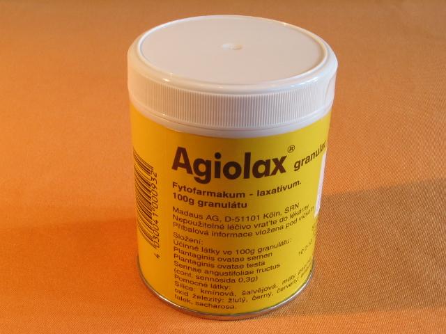 Агиолакс состав