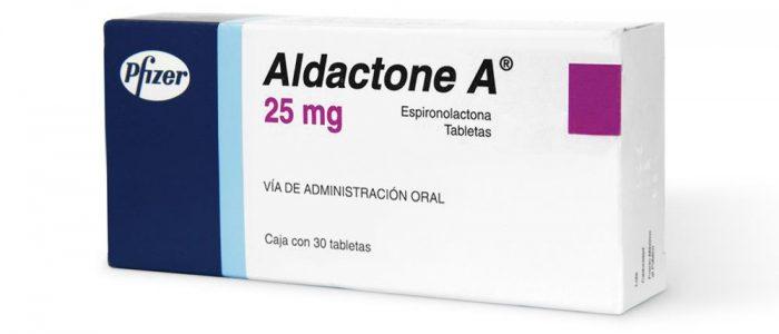 Альдактон при давлении