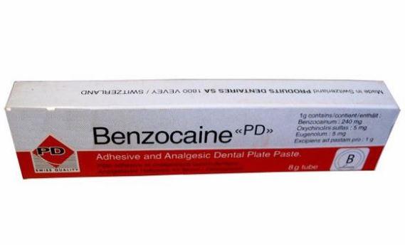 Бензокаин фармакология