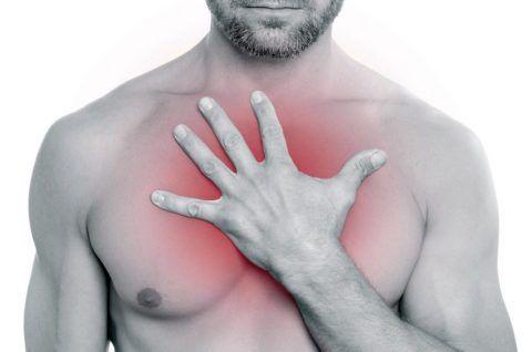 Боль в груди может иметь различные причины