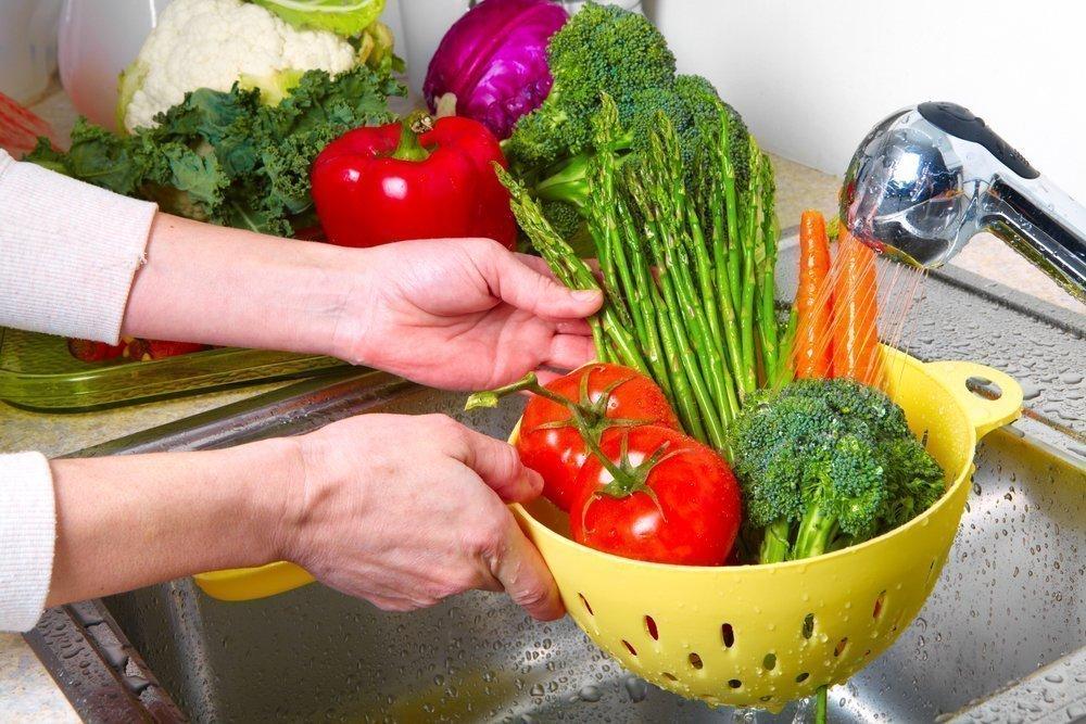 Больше свежих овощей