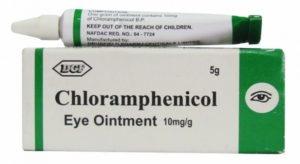 Хлорамфеникол содержится в мази, что дает ей широкий спектр применения