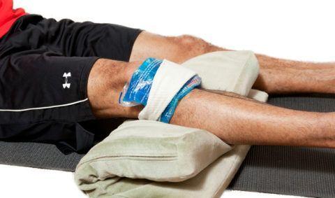 Если была травма колена, необходимо правильно ее пролечить