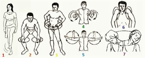 Эта разминка применяется в восточных оздоровительных и боевых практиках