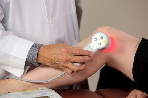 Физиотерапия успешно применяется в лечении суставной боли