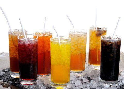 Газированные напитки