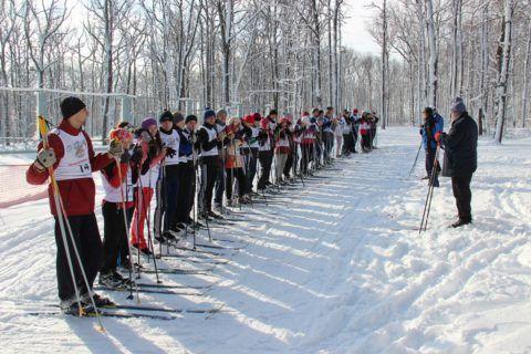 Ходьба и бег на лыжах
