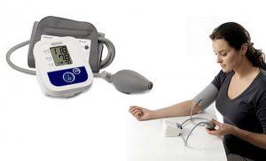 Полуавтоматический измеритель артериального давления