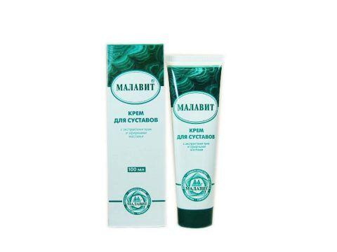 Крем «Малавит» поможет при заболеваниях мышц и суставов.