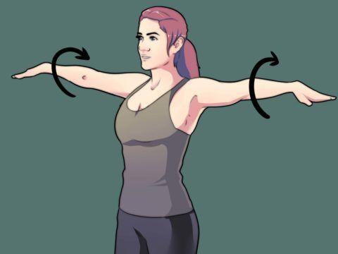 Лечебная разминка для суставов поможет вернуть функциональность сочленениям.