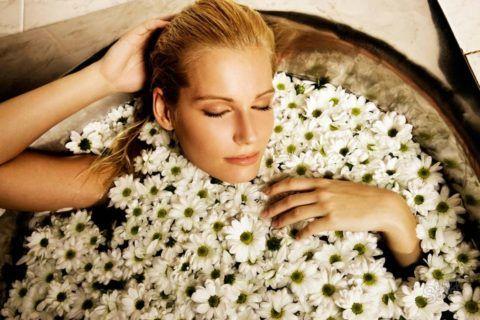 Лечение с помощью травяных ванн