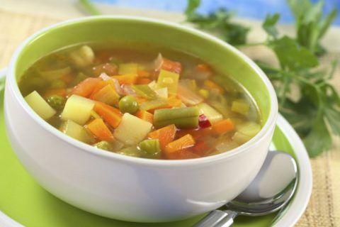 Легкий диетический суп – идеальный вариант блюда для полноценного и вкусного обеда.