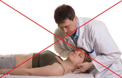 Манипуляции на шее при шейном остеохондрозе официально запрещены ВОЗ с 2007 года