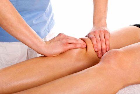 Массаж коленей улучшит кровообращение и трофику суставных тканей, уменьшит явление хруста при движениях.