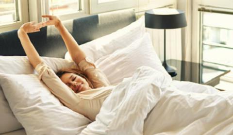 Начинайте делать зарядку ещё лежа в постели