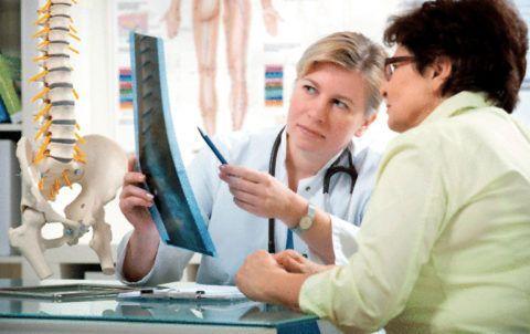 Основной вид диагностики сколиозов – рентгеновские снимки
