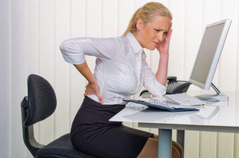 Остеохондроз - «офисное» заболевание