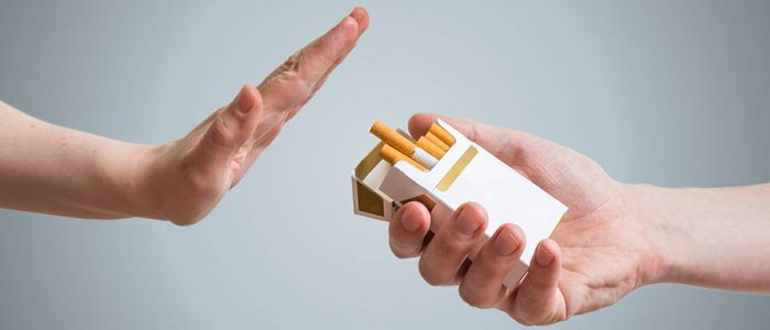 Давление при бросании курить