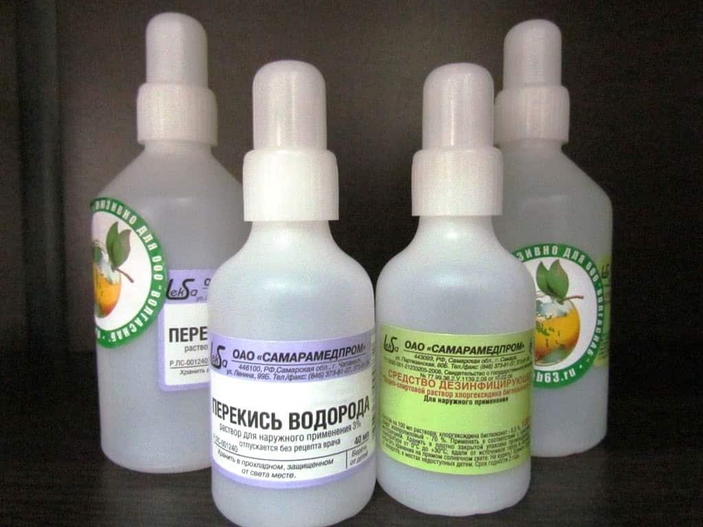 Бактерицидные и противомикробные средства