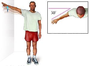 Помощь плечу – статическое расслабление