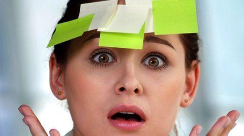 Понижение работоспособности головного мозга