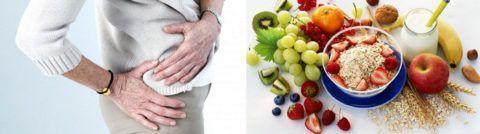 Правильное питание имеет большое значение при заболеваниях суставов.