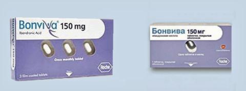 Препарат Бонвива – совместная разработка компаний Roche и GlaxoSmithKline
