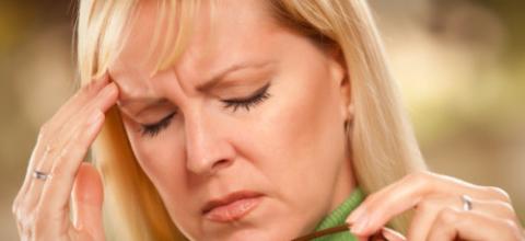 Преследующие головные боли и головокружения – следствие шейного спондилеза