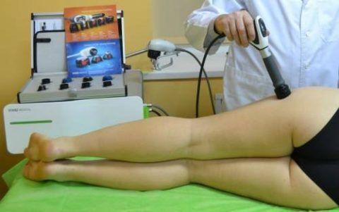 Процедуры физиотерапии с успехом используют в качестве вспомогательного метода при коксартрозе таза.