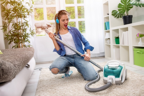 Работа по дому не может заменить лечебную гимнастику