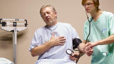 Сердечная боль может быть вызвана ущемлением корешков С4-7 и TH1