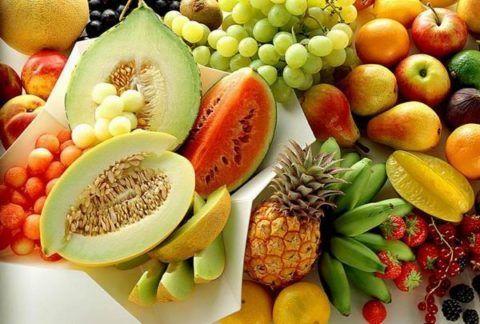 Сладкие фрукты