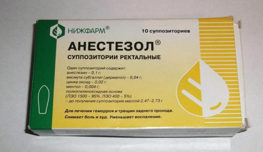 Состав Анестезола