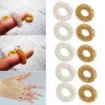 Современный способ выполнения иглоукалывания пальцев рук при лечении артрита суставов.