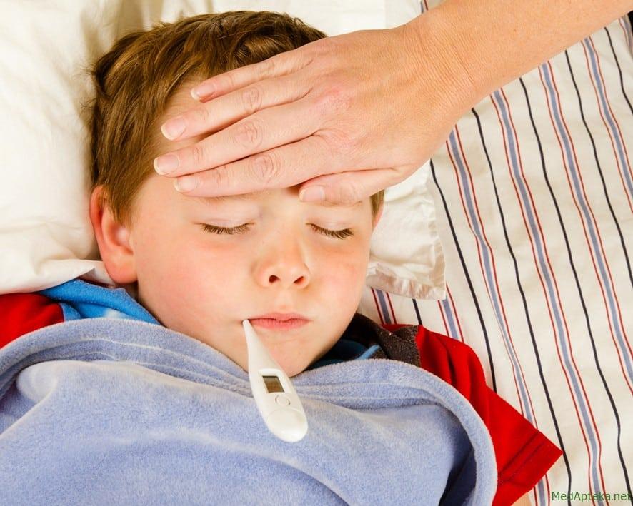 Причины повышения температуры и симптомы