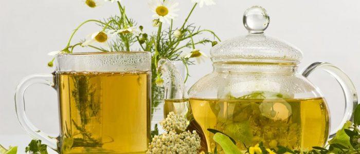 Травяной чай при давлении