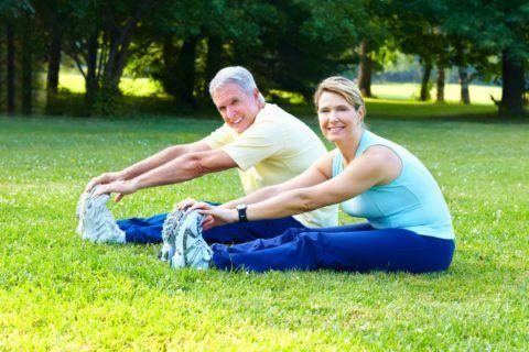Умеренная физическая активность – путь к долголетию.