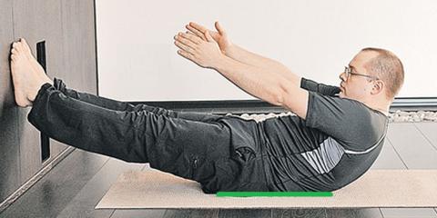 Упр. 6 – Удержание позы 3-6 раз, каждую по 5-20 секунд, с паузами для отдыха в 5-7 секунд