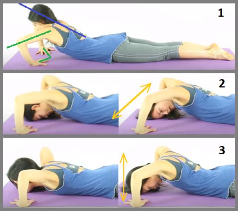Упражнения для снятия боли позвоночника в шейном отделе