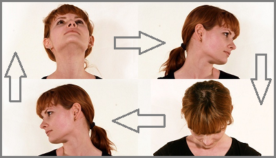 Упражнения для суставов шеи