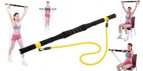Упражнения с гимнастической палкой.