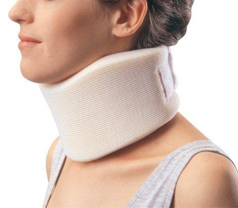 Воротник Шанца предназначен для мягкой фиксации шейного отдела после травмы