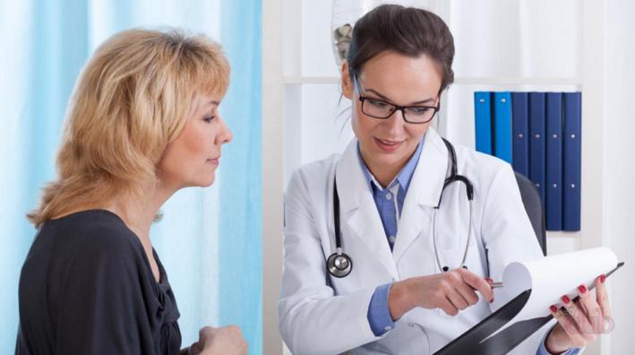 Пациент приходит к доктору за рекомендациями