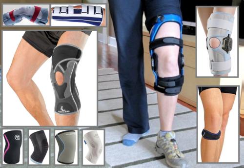 Основные виды ортопедических изделий для лечения травм и патологий коленей